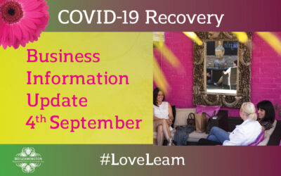 BID Update – Support, Resources & Projects: 4th September