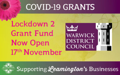Business Grants Links – Now LIVE: 17th November