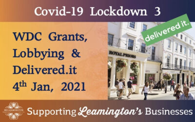 2021 Update: Grants, Lobbying & Deliveries