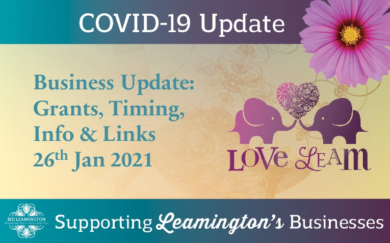 Business Update: Grants, Timing, Info & Links