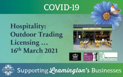 Hospitality: Outdoor Trading Licensing …